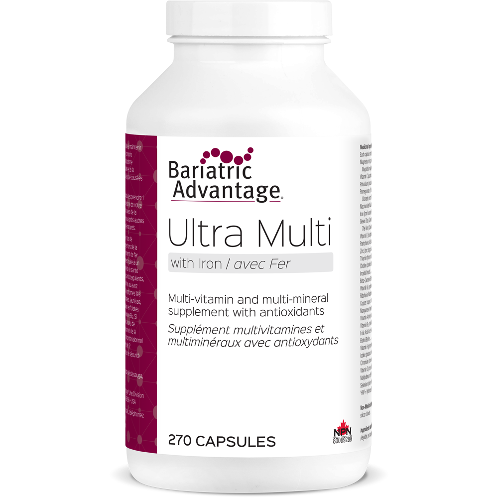 Ultra Multivitamin with Iron (9-Month Supply)