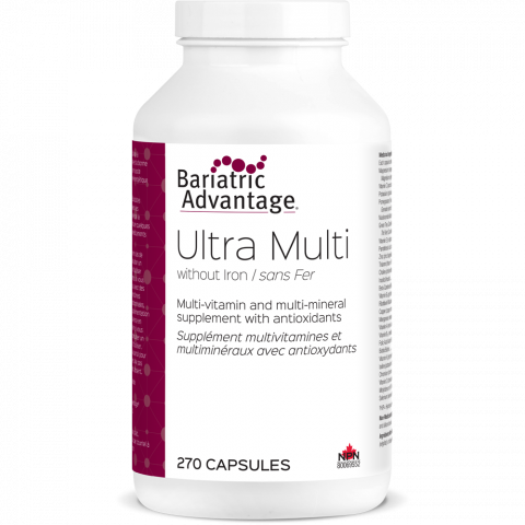 Ultra Multi-vitamin Formula without Iron (9-Month Supply)