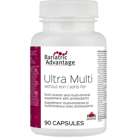 Ultra Multivitamin Formula without Iron